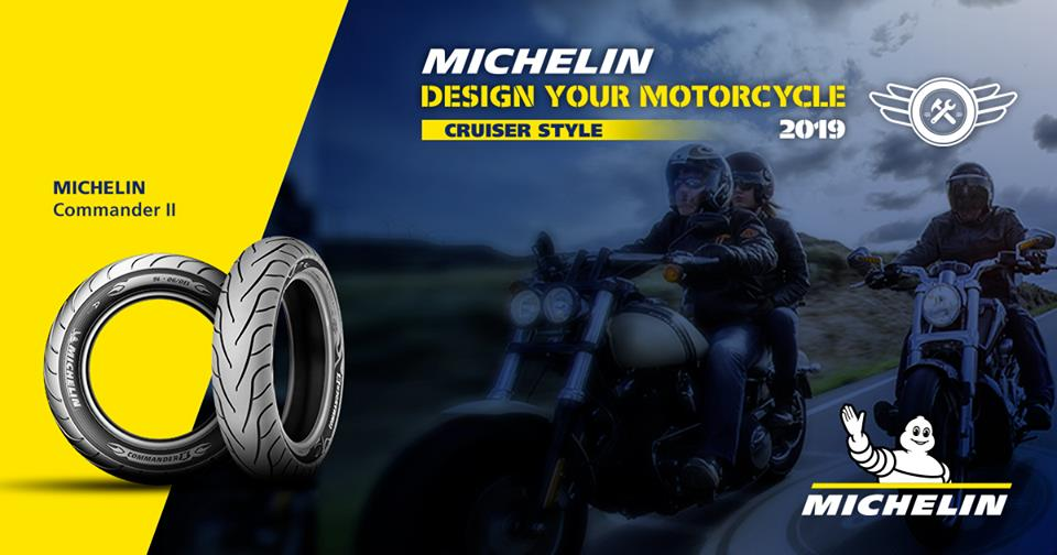 MICHELIN COMMANDER II FRONT TYRE MOTORCYCLE (ROAD CRUISER)