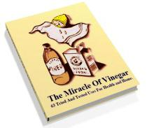 The Miracle of Vinegar + 7 Other Amazing Ebooks ! (worth USD 18.95) !