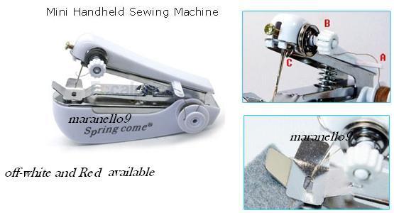 Multipurpose Wireless , Durable & Portable Mini Sewing Machine .