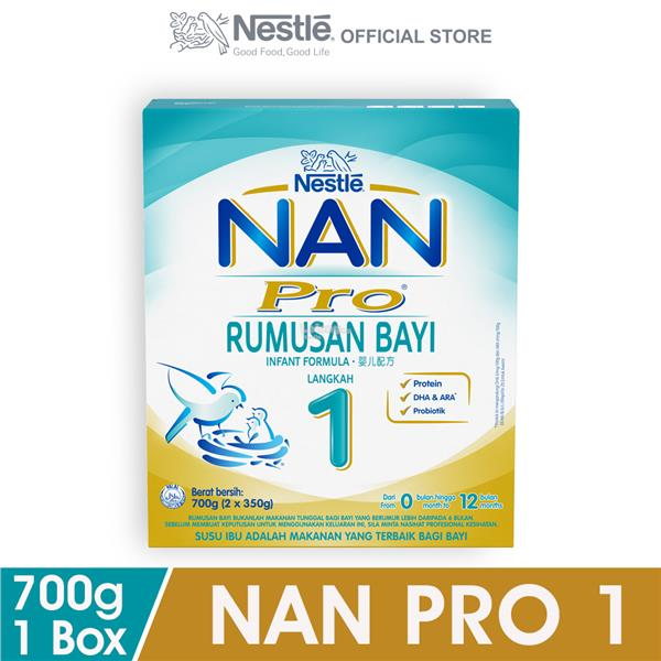does nan pro 1 contain dha