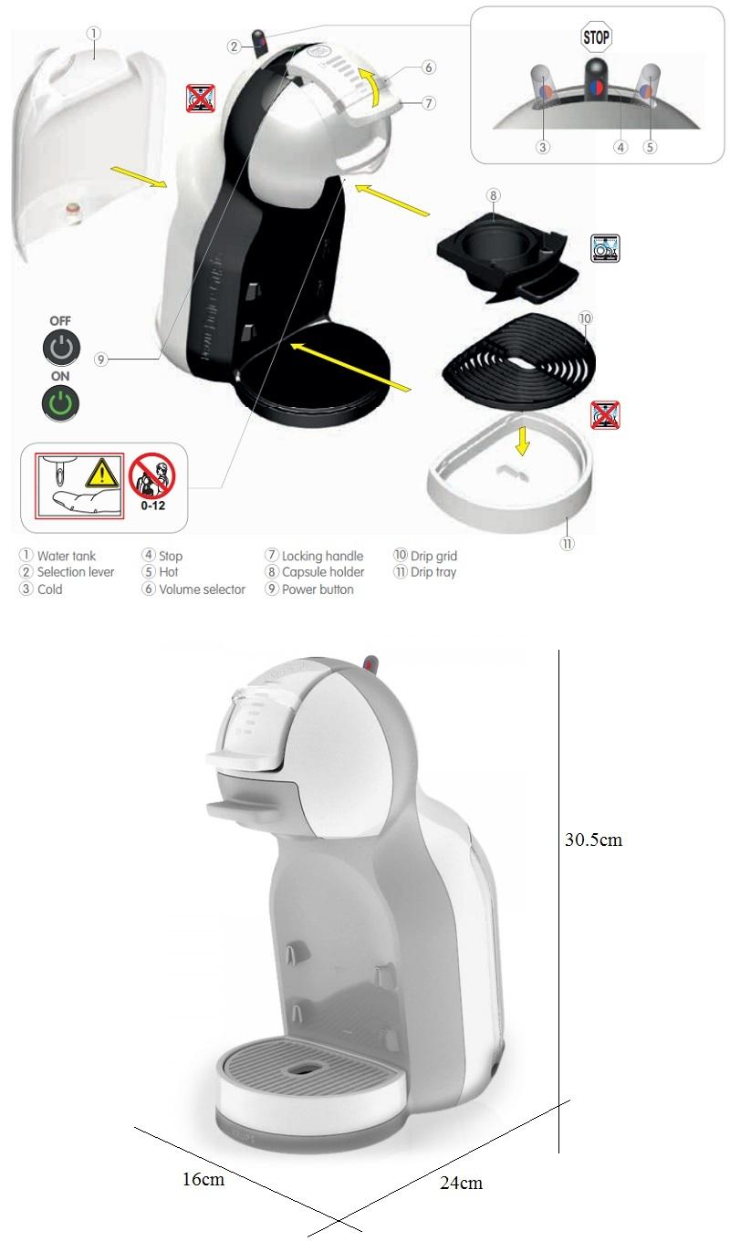 nescafe dolce gusto mini me automati end 8 27 2017 8 53 am. Black Bedroom Furniture Sets. Home Design Ideas