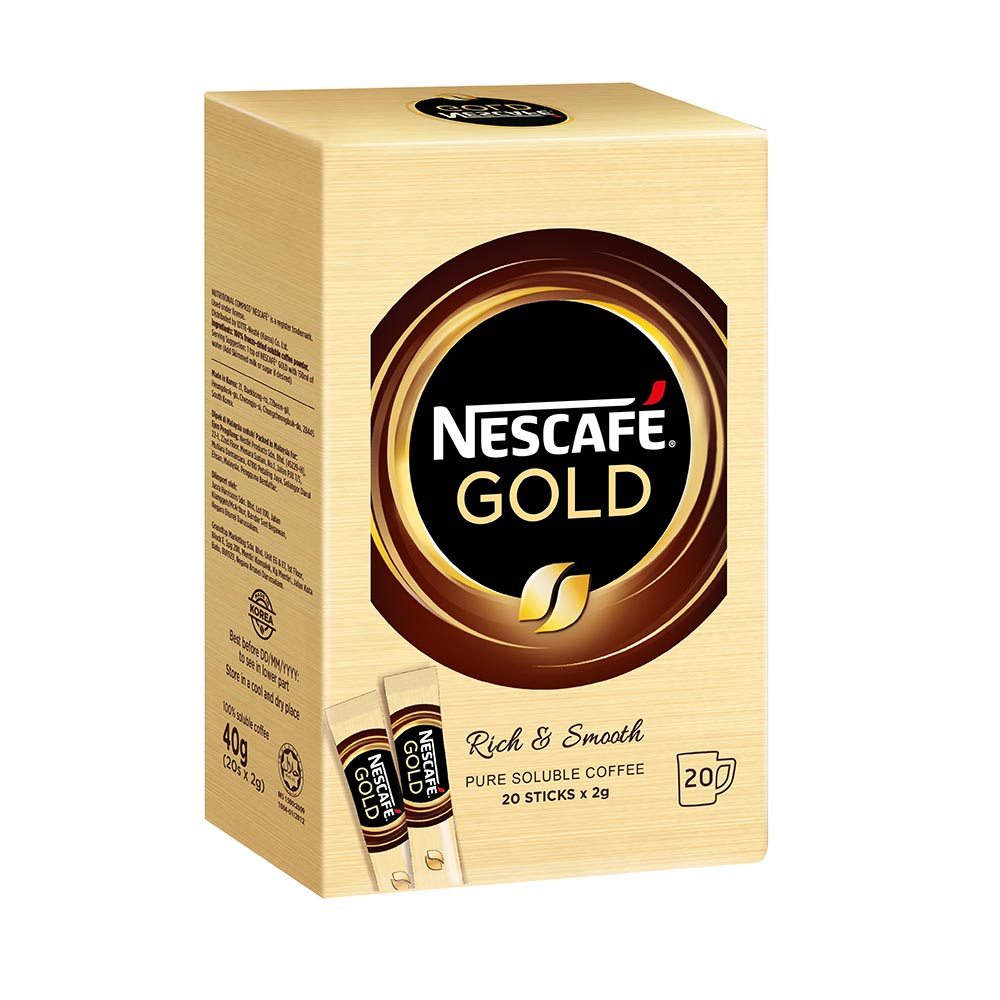 NESCAFE GOLD Stickbox 20stick x 2g
