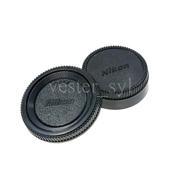 Nikon Body & Rear Lens Cap 2pcs Set
