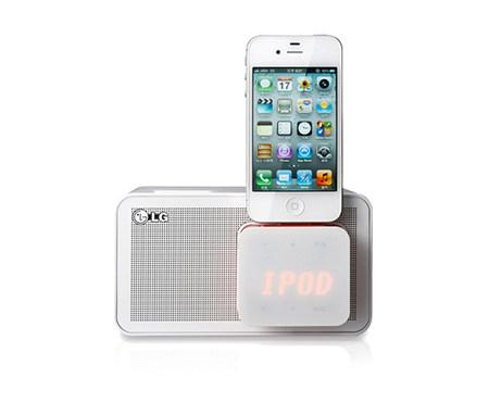 Offer LG Alarm LED Clock and FM Radio