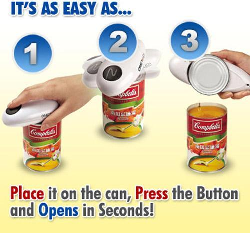 OneTouch One Touch Can Opener