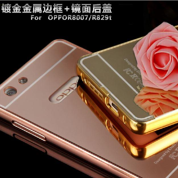 Casing Oppo Neo 3 R831k Casing Bumper Mirror Rose Gold Daftar