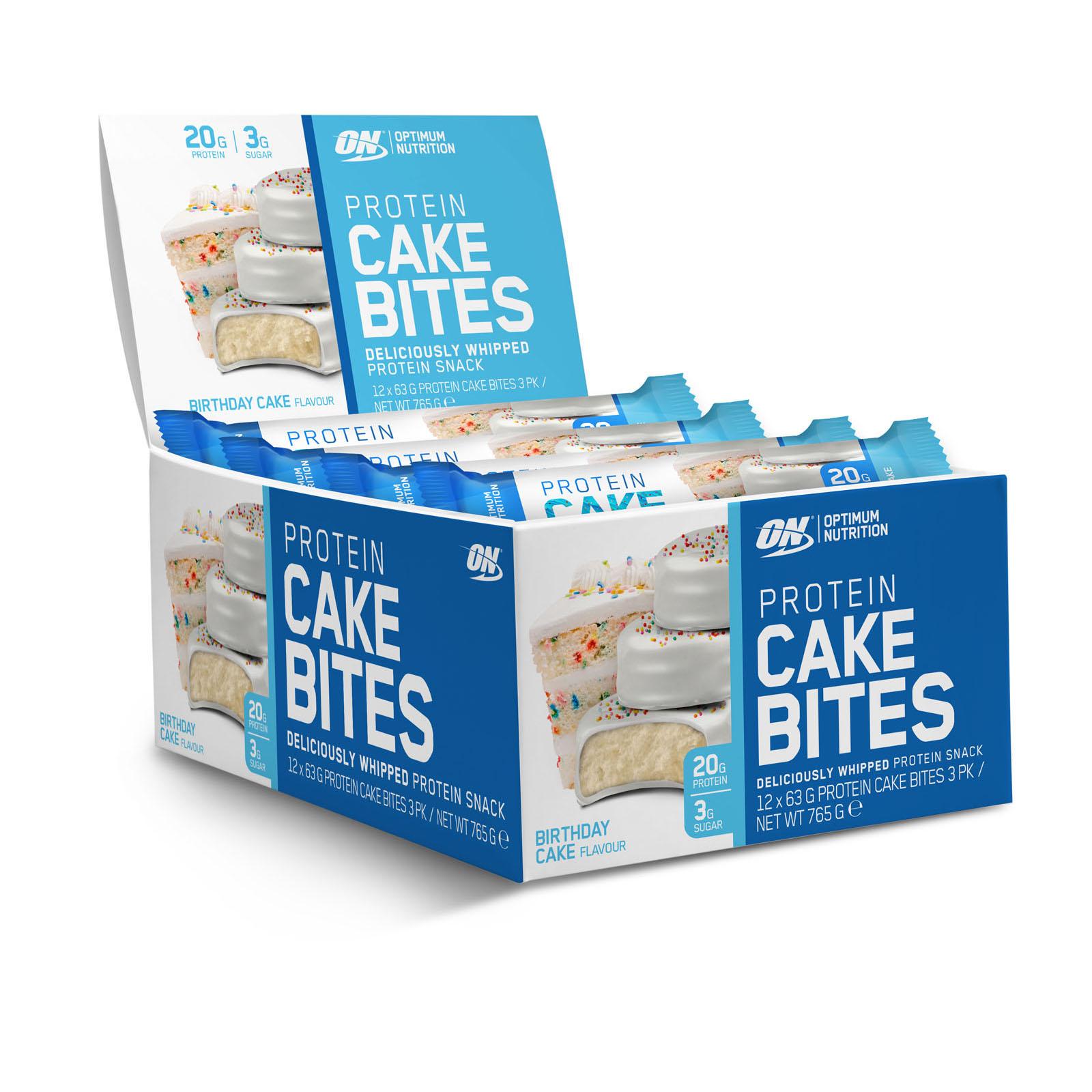 Optimum Nutrition Cake Bites 12 X 63g