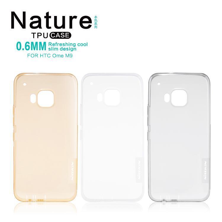 Original Nillkin Nature TPU case for HTC One M9 - Transparent.