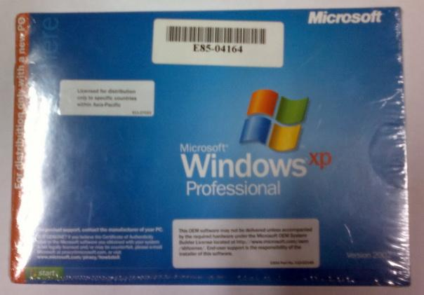 license key for windows xp pro