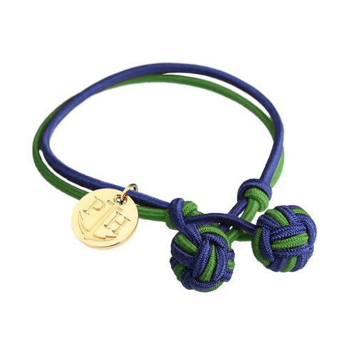 PAUL HEWITT Knotbracelet Nylon Navy Blue-Green