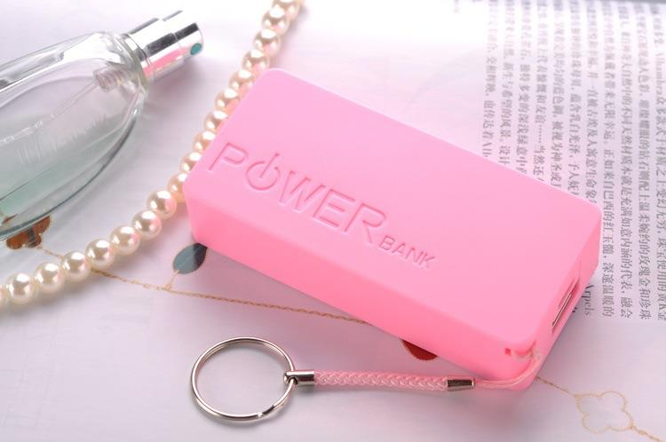 Perfume 5200mAh Power Bank (Pink) FREE USB Cable+charger~!