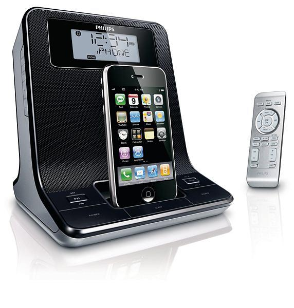 Philips Clock radio Docking System for iPod / iphone (Market $499)
