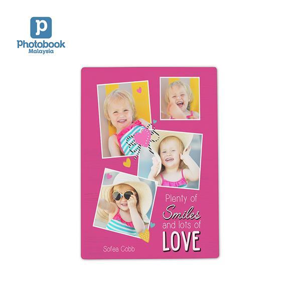 Photobook Malaysia 5' x 7' Desktop Plaque. ‹ ›