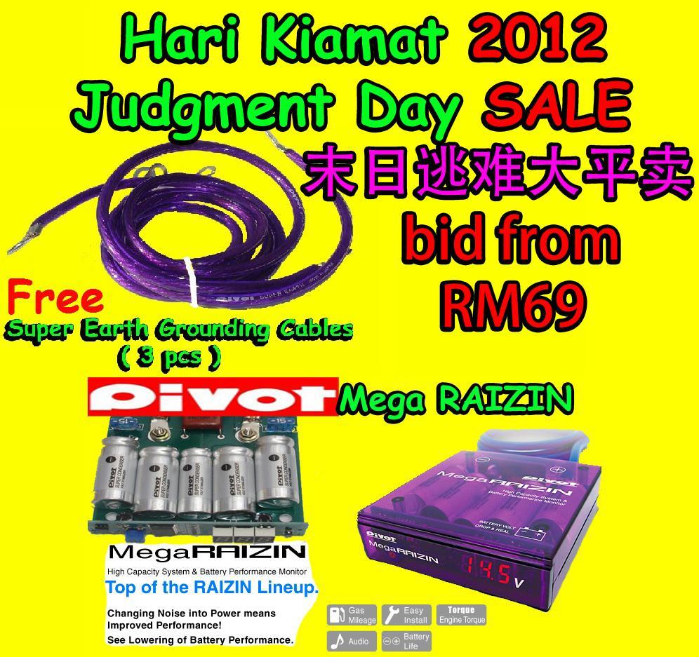 Pivot Mega Raizin Fuel Saver Power Booster Jimat Minyak Petrol Diesel NGV Gas