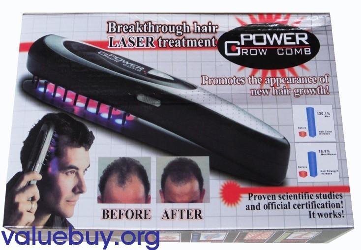 New Power Grow  Laser Comb Baldness Hair Loss Therapy Cure