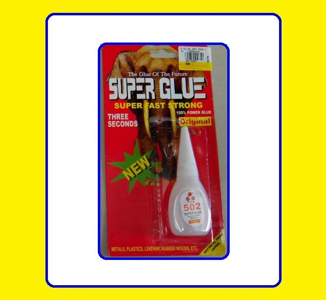 All Purpose 3 Second Super glue Adhesive Fast firmly sticking in 3 nd