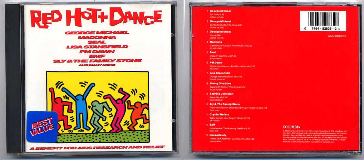 'Red Hot + Dance' CD