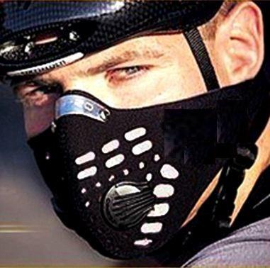 Respirator Dust Filter Face Mask Cyclist Biker Haze Pollutant Protect
