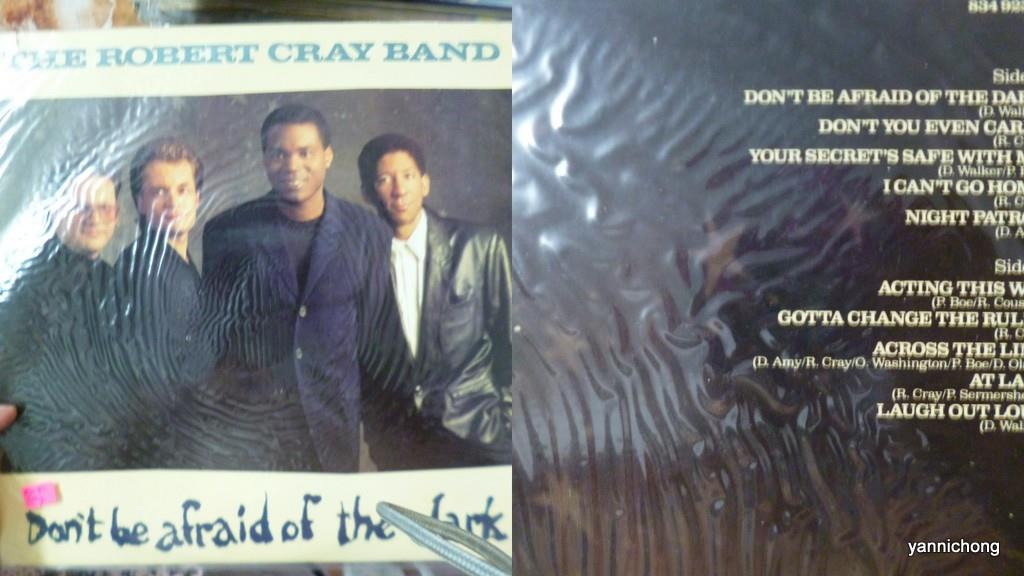 ROBERT CRAY BLUES  VINYL RECORD