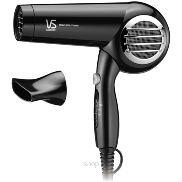 VS Sassoon 1900W Neo-Retro Folding Handle Dryer - VSD590BH