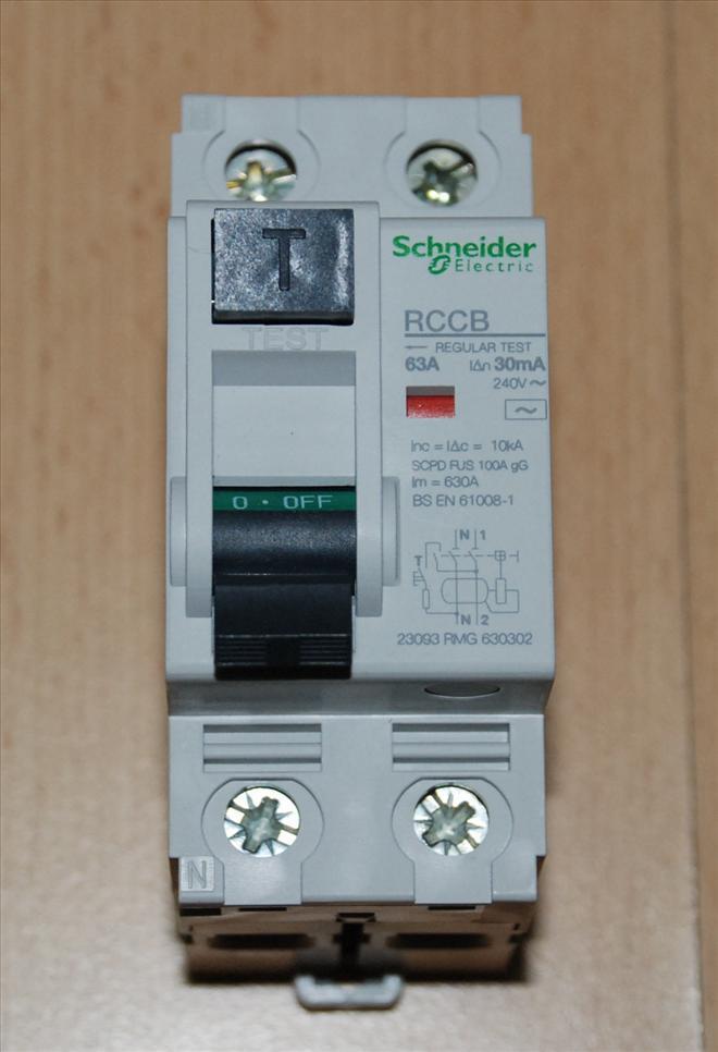 SCHNEIDER ELECTRIC 63A 30MA 2 Pole ELCB/RCCB/RCD MERLIN GERIN
