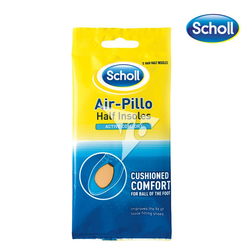 Scholl Air-Pillo Half Insoles -10057150