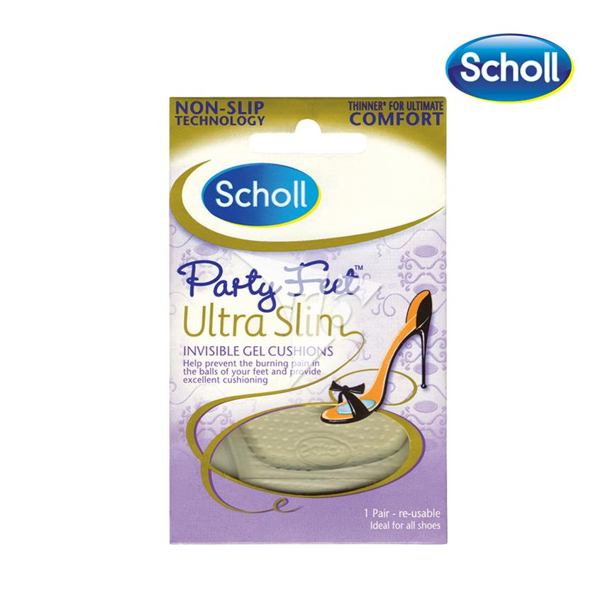 Scholl Party Feet Ultra Slim Invisible Gel Cushions -10026856