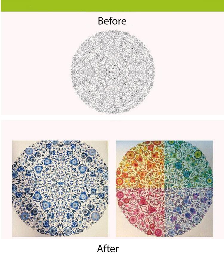 Secret Garden Colouring Book Malaysia Facebook Container