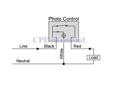 3 Wire Photocell Wiring Schematic - Wiring Diagram Sheet Day Night Switch Wiring Diagram V Ac on
