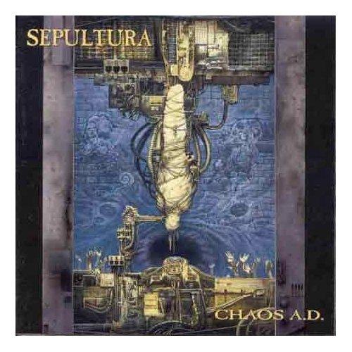 SEPULTURA CHAOS A.D ORIGINAL AUDIO CD FROM USA
