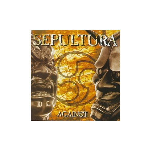 SEPULTURA AGAINST ORIGINAL AUDIO CD FROM USA