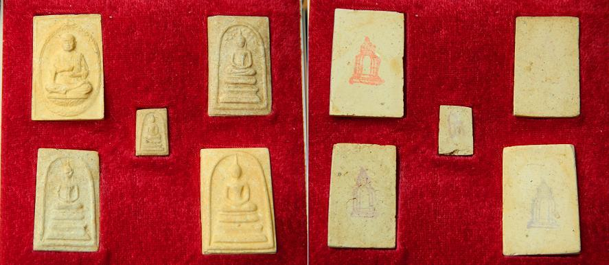 Set of Phra Somdej 118 year commemoration of LP Toh BE2533-A83