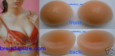 Silicone Nu Breast Bra Cleavage Enhancers Inserts Pads Falsies