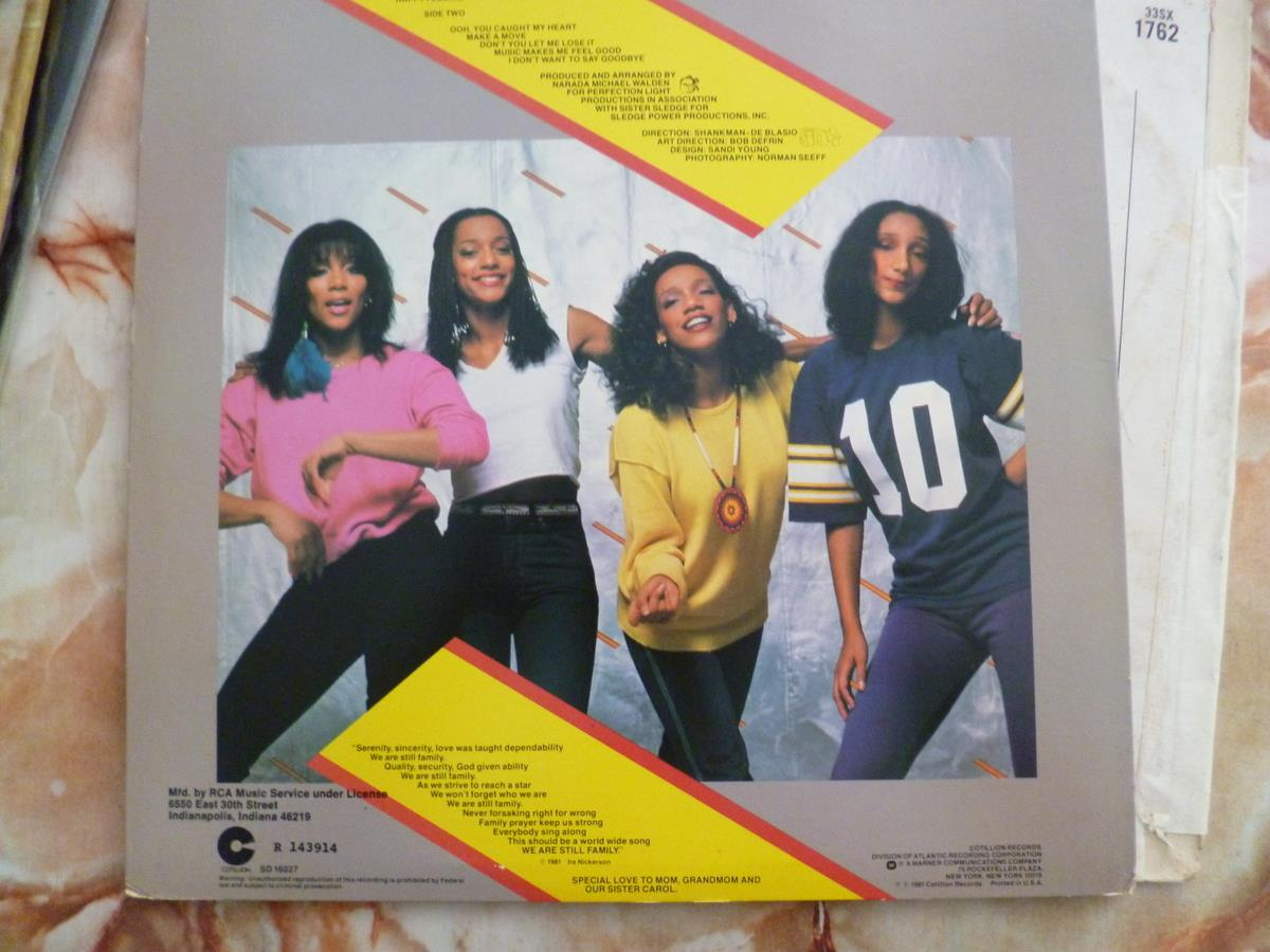 SISTER SLEDGE DISCO ERA RECORD VINYL