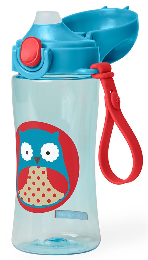 Skip Hop: Zoo Lock-Top Sports Bottle - Owl - 15% OFF!!