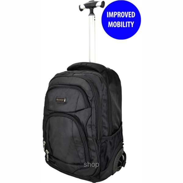 72f2926dc63 Slazenger SZ3352T Rolling Backpack with Trolley with Improved Mobility - 20  In. ‹ ›