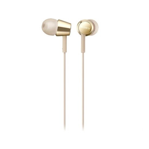 Sony MDR-EX155AP In-Ear Earphone Stereo L-Plug Type 1.2 Meter with Mic