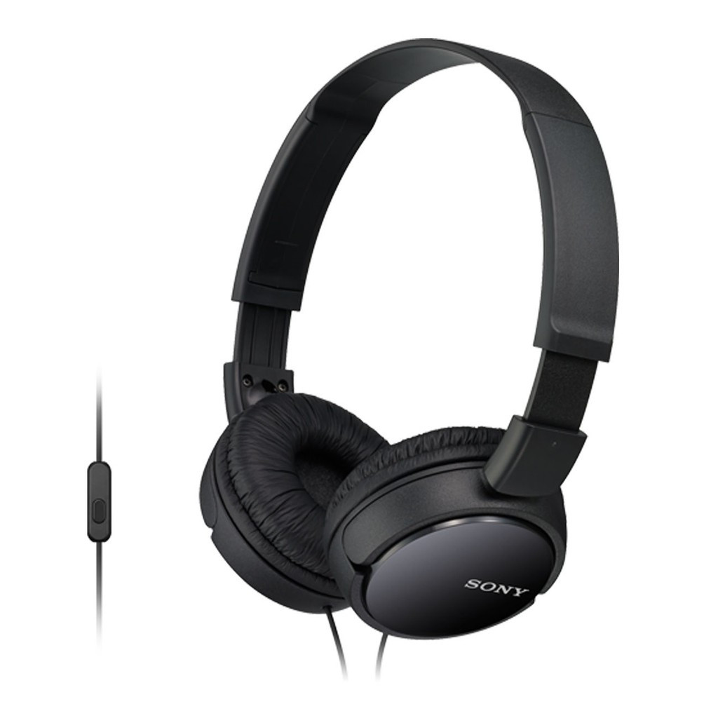 Sony MDR-ZX110AP Headphones In-line remote and mic