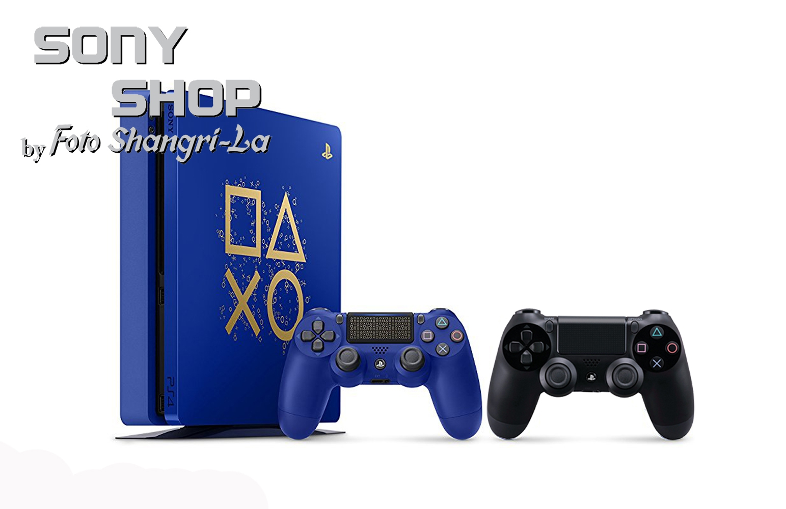 "SONY PS4 SLIM LIMITED EDITION  ""Days of Play "" 500GB CONSO"