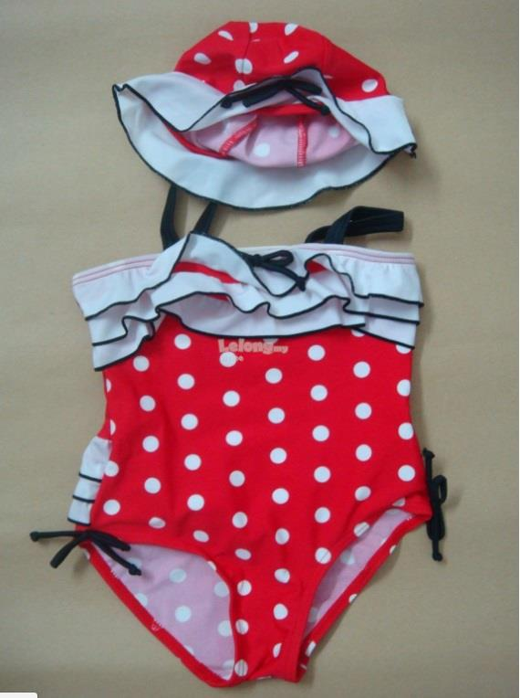 (SS15-4) Lady Bird Swimsuits For Kids, Set In 2