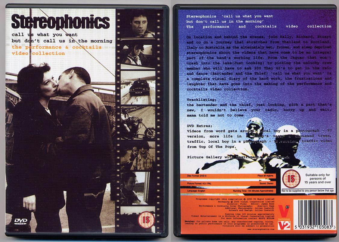 Stereophonics Video Collection DVD