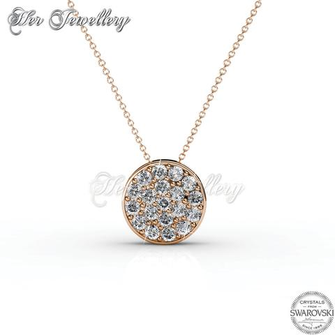crystal element artune shape necklace clear jewelry online pendant heart brass in swarovski white