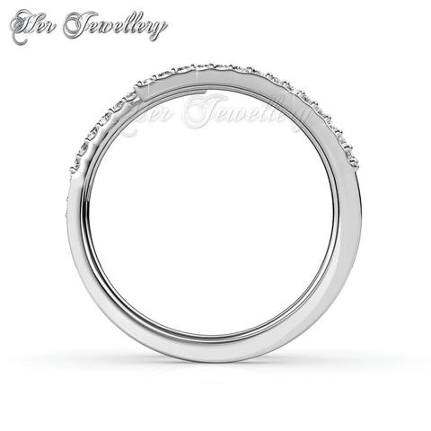 product pave spiral ring long detail new rings diamond gift gold rose finger design
