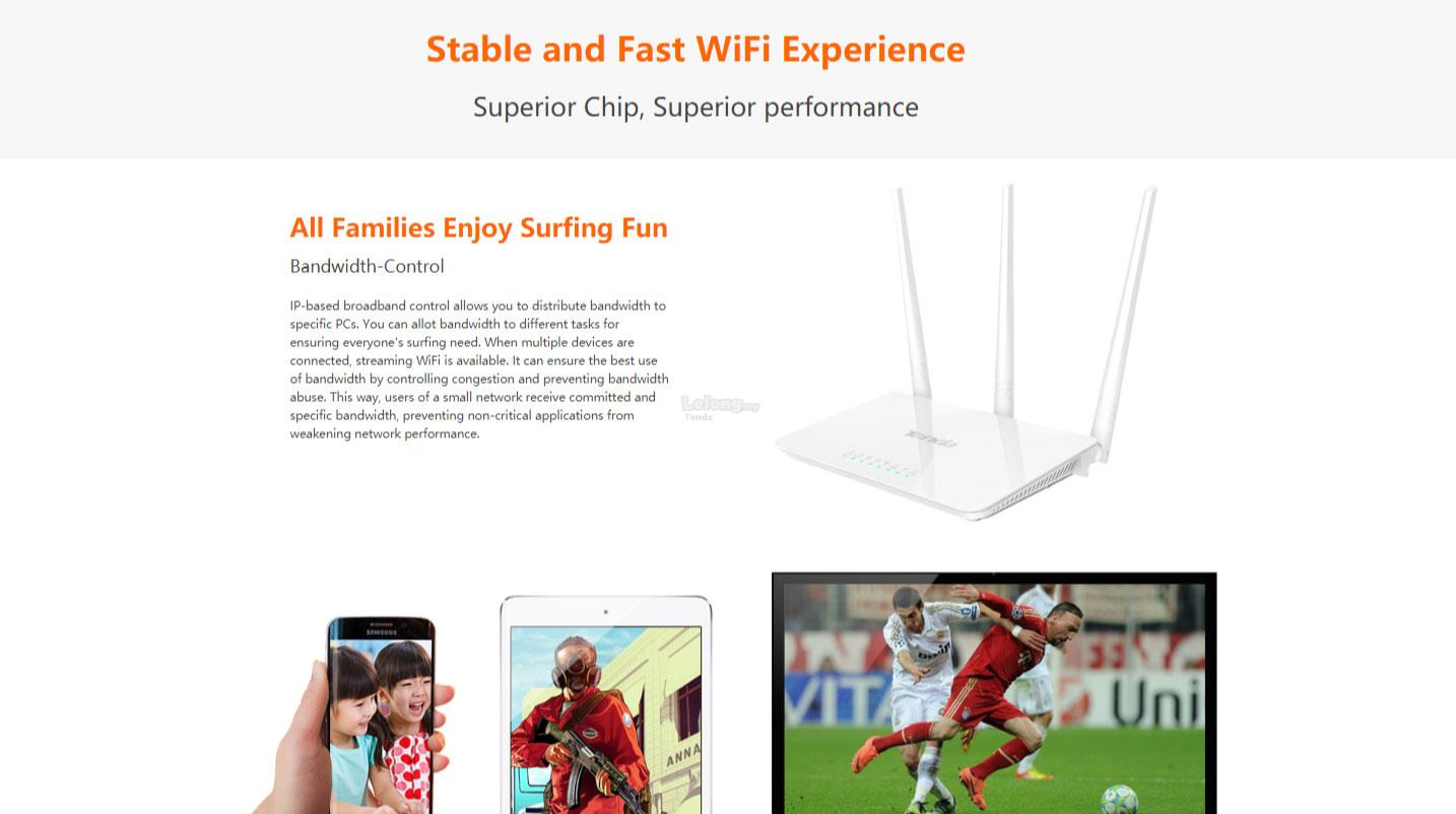 Tenda F3 300mbps Wireless Router End 7 23 2019 415 Pm Easy Setup