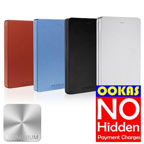 One Plus 5t Promo Code >> TOSHIBA Canvio Alumy Portable Hard (end 7/31/2018 12:00 AM)
