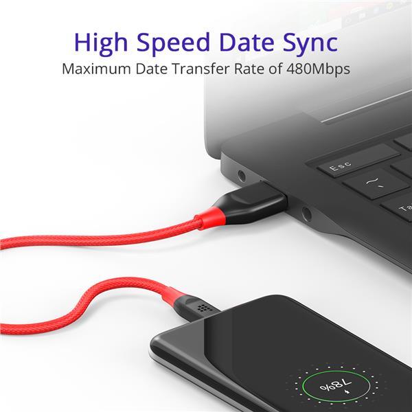Tronsmart ATC Double Braided Nylon Type-C cable