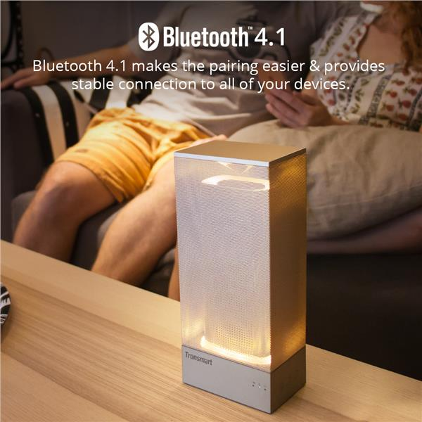 Tronsmart T7 Beam Bluetooth Speaker come with LED light