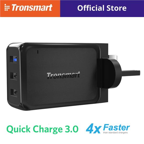 Tronsmart W3PTA 3 USB port Qualcomm Quick Charge 3.0 Wall Charger