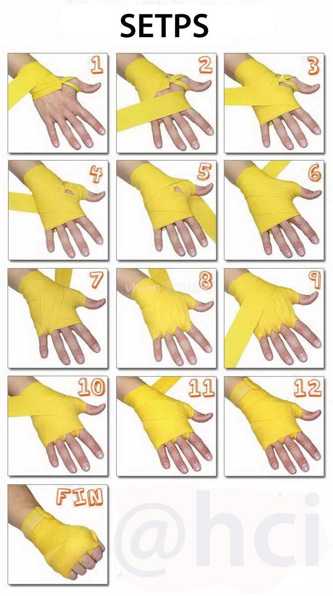 Как сделать руки в бинтах 621