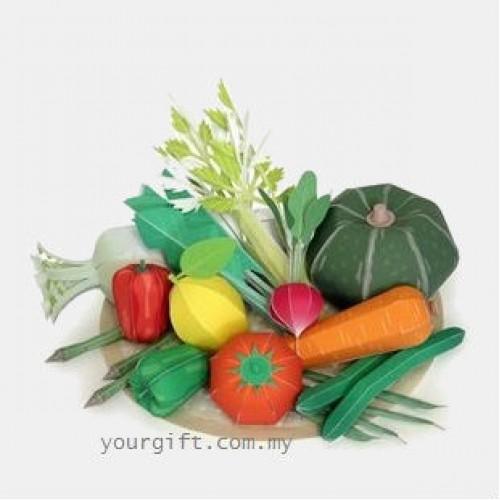 Поделки своими руками из бумаги овощи и фрукты своими руками